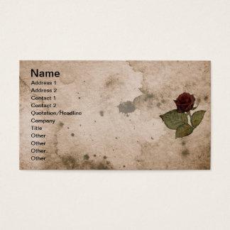 Ritter der Rose Visitenkarte