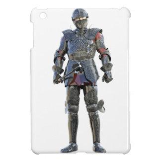 Ritter, der stehend und vorwärts geschaut worden iPad mini hülle