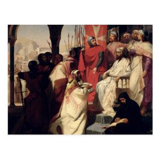 Ritter des Auftrages von Johannes von Jerusalem Postkarte