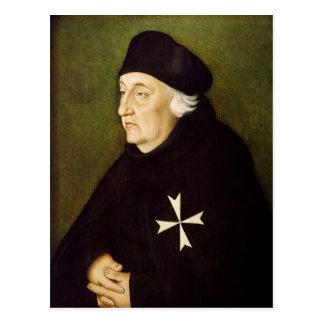 Ritter des Auftrages von Malta, 1534 Postkarte
