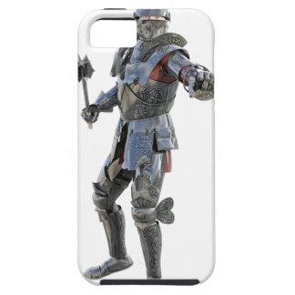 Ritter fechten zu seinem Gegner an iPhone 5 Schutzhülle