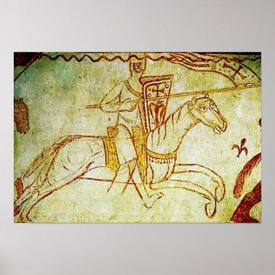 Ritter Kreuzfahrer Poster