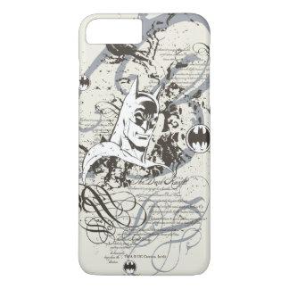 Ritter-Manuskript-Montage Batmans dunkle iPhone 8 Plus/7 Plus Hülle