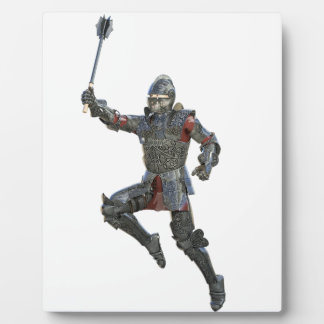 Ritter mit Muskatblüte springend rechts Fotoplatte