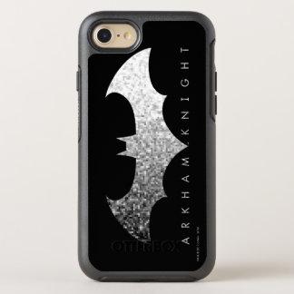 Ritter-Pixel-Logo Batmans Arkham OtterBox Symmetry iPhone 8/7 Hülle
