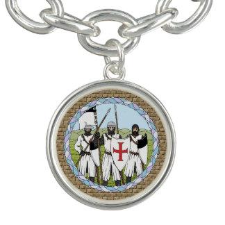 Ritter Templar Charm Armband