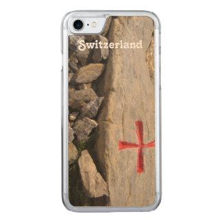 Ritter Templar die Schweiz Carved iPhone 8/7 Hülle