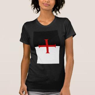 Ritter Templar Flagge T-Shirt
