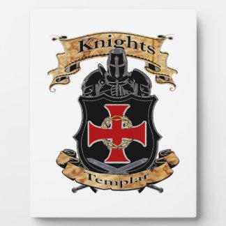 Ritter Templar Fotoplatte