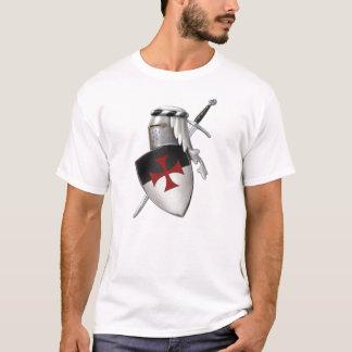 Ritter Templar Schild T-Shirt