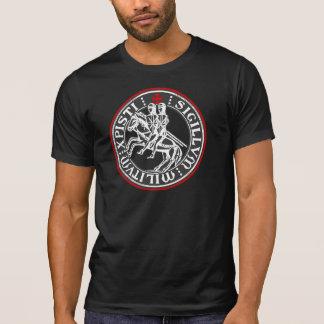 Ritter Templar Soldat-Siegel T-Shirt