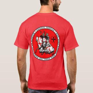 Ritter Templar zwei Ritter-Siegel-Shirt V1 T-Shirt