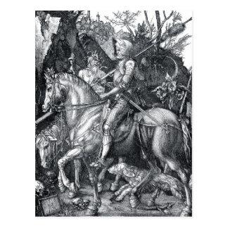 Ritter, Tod und der Teufel - Albrecht Dürer Postkarte
