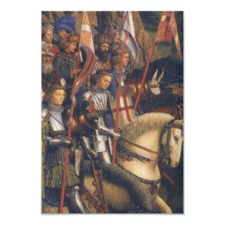 Ritter von Christus (GentAltarpiece), Jan van Eyck 8,9 X 12,7 Cm Einladungskarte