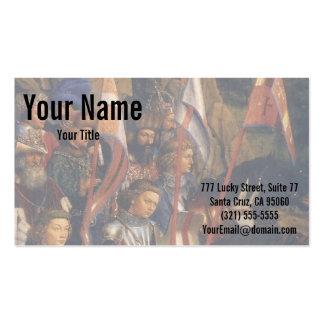 Ritter von Christus (GentAltarpiece), Jan van Eyck Visitenkarten