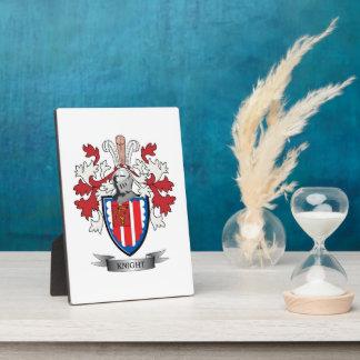 Ritter-Wappen Fotoplatte