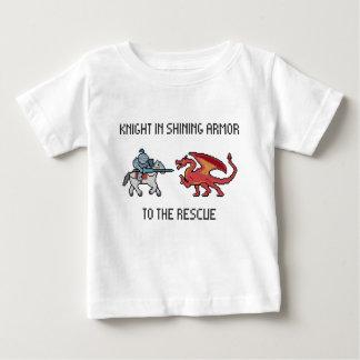 Ritter zum Rettung Säuglings-T - Shirt