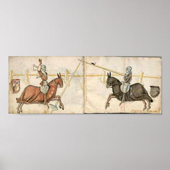 Ritterliches Turnier Poster