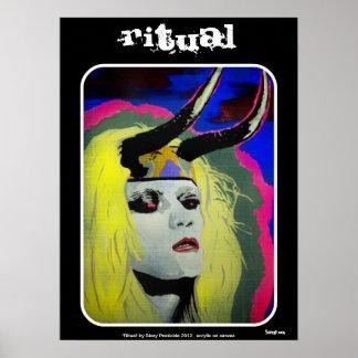 """Ritual"" Plakat"