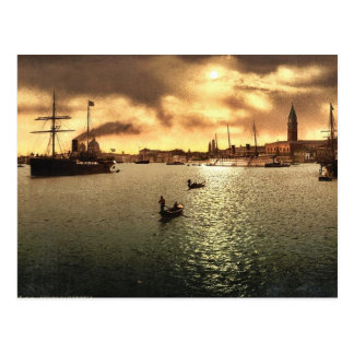 Riva Schiavoni, gesehen von S. Zaccane, Venedig, Postkarte