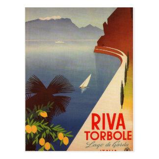 Riva Torbole, Lago di Garda Postkarte