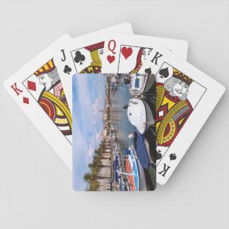 Riva Ufergegend, Spalte, Kroatien Spielkarten