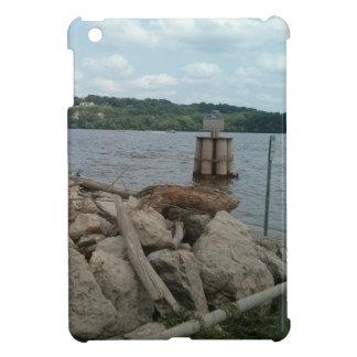 Riverwalk Dubuque Iowa Fluss Mississipi iPad Mini Hülle