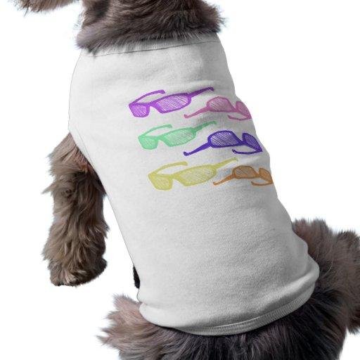 Riyah-Li entwirft Sonnenbrille Ärmelfreies Hunde-Shirt