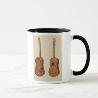 """Rizzio Gitarre, """"von den Musikinstrumenten"""" Tasse"""