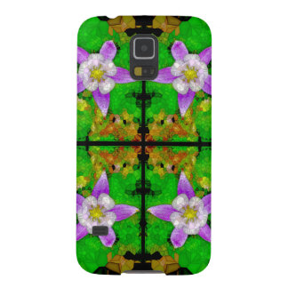 RkyMtn Columbine Mosaik: BarelyThere GalaxyS5 Fall Galaxy S5 Hülle