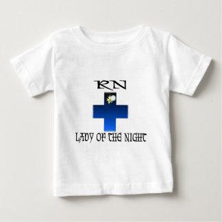 RN-Dame der Nacht Baby T-shirt