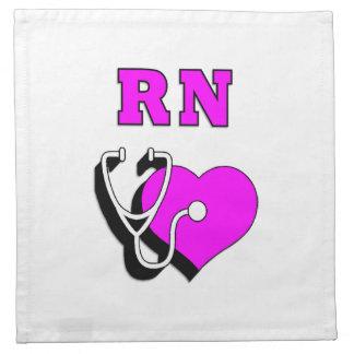 Rn-Krankenpflege Stoffserviette