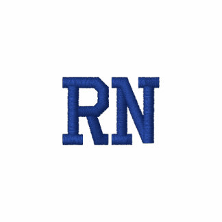 RN: Registrierte Krankenschwester-medizinischer Polohemd