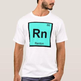 Rn - Renton Washington Chemie-Periodensystem T-Shirt