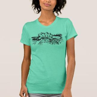 Roadkill Schildkröte T-Shirt