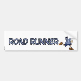 Roadrunner Autoaufkleber
