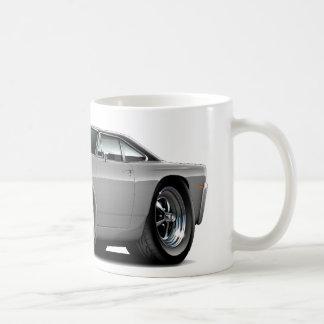 Roadrunner-Grau-Schwarzes Motorhauben-Auto 1969 Kaffeetasse