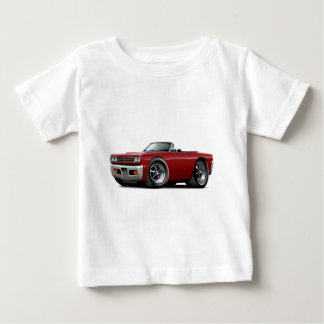 Roadrunner-kastanienbraunes Kabriolett 1969 Baby T-shirt