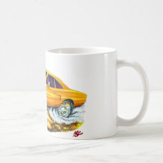 Roadrunner-Orangen-Auto 1970 Kaffeetasse