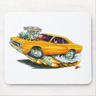 Roadrunner-Orangen-Auto 1970 Mauspads