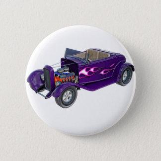 Roadster 1932 mit dem Motor angezeigt Runder Button 5,7 Cm
