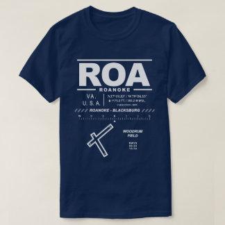 Roanoke - Blacksburg regionaler Flughafen ROA-T - T-Shirt