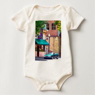 Roanoke VA - Auf Salem-Allee Baby Strampler