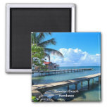Roantan Strand, Honduras Kühlschrankmagnet