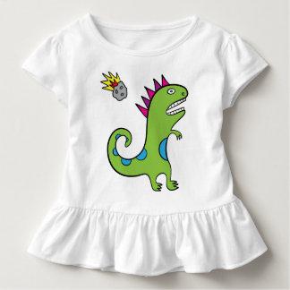 Roary das T-Rex - Kleinkind-Rüsche-T-Stück Kleinkind T-shirt