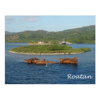 Roatan, Honduras Postkarte