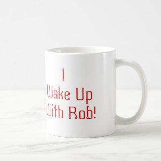 Rob-haswell, wecke ich UpWith Rob! Kaffeetasse