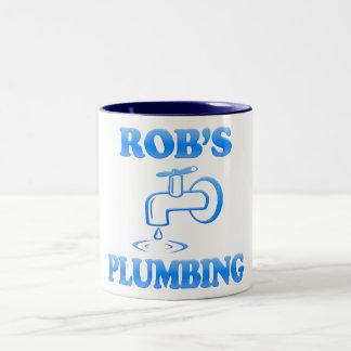 Rob Klempnerarbeit Zweifarbige Tasse