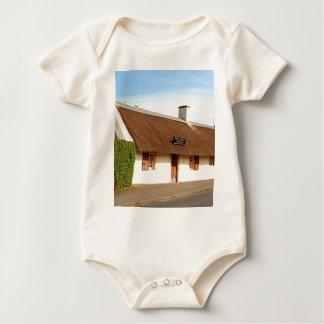 Robert brennt Hütte, Alloway, Schottland Baby Strampler