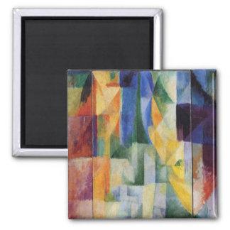 Robert Delaunay - simultanes Windows auf der Stadt Quadratischer Magnet